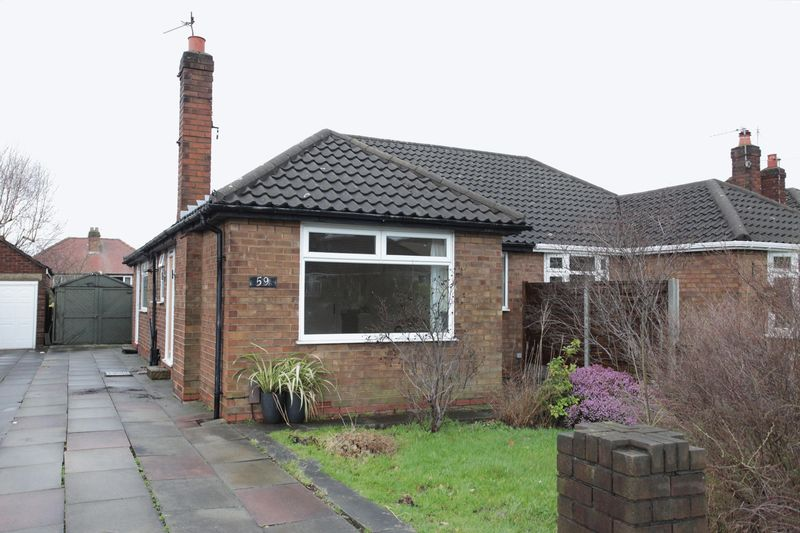 2 Bedrooms Semi Detached Bungalow for sale in Shaftesbury Avenue, Timperley