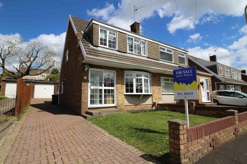 3 Bedrooms Semi Detached House for sale in Carmarthen Drive, Tonteg, Pontypridd CF38 1HY