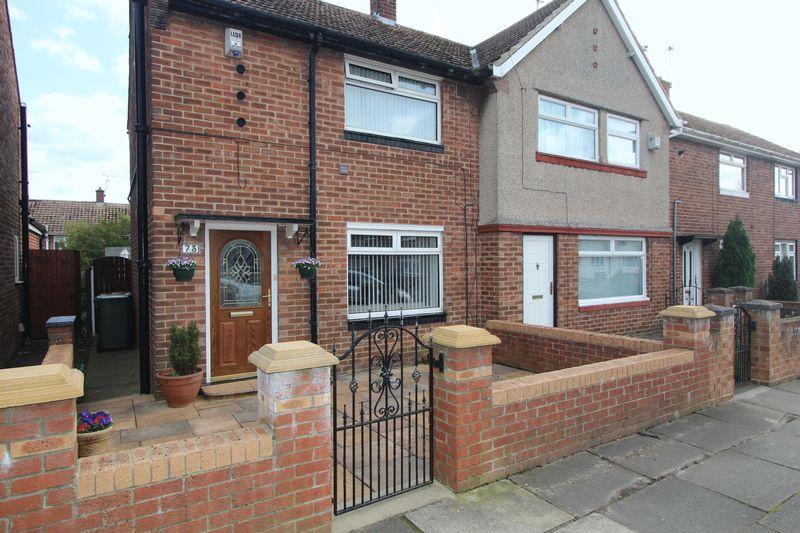 2 Bedrooms Semi Detached House for sale in Gillingham Road, Sunderland
