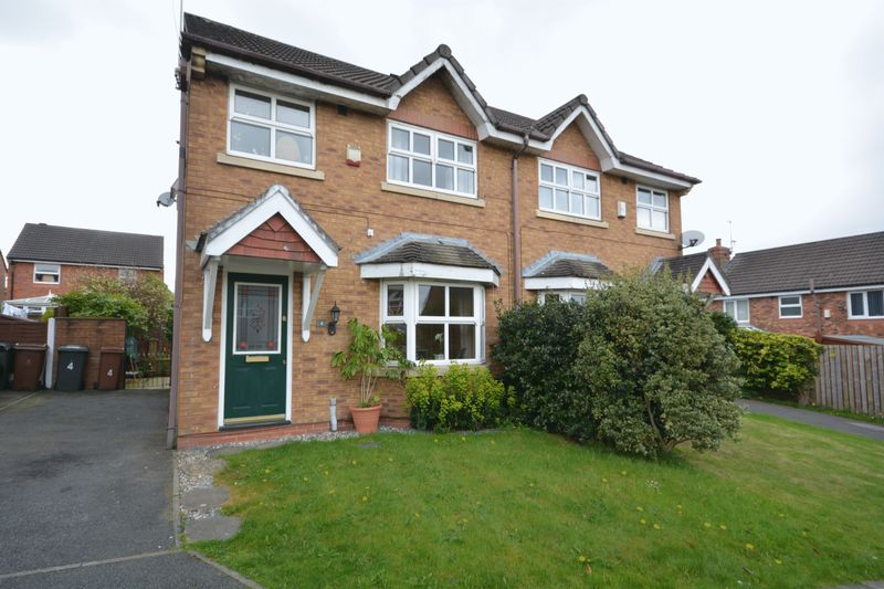 3 Bedrooms Semi Detached House for sale in Cravens Hollow, Oakdale, Blackburn
