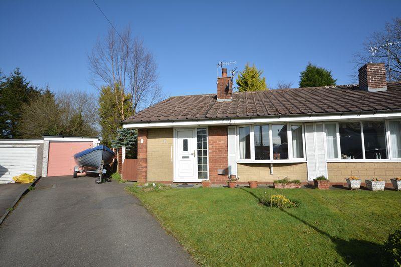 2 Bedrooms Semi Detached Bungalow for sale in Swinburne Close, Baxenden