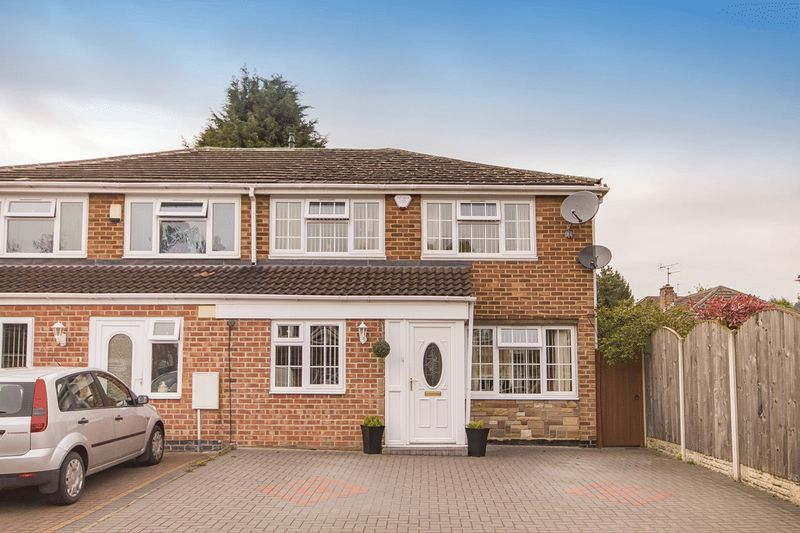 3 Bedrooms Semi Detached House for sale in HATHERN CLOSE, SUNNYHILL