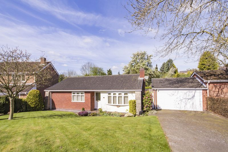 3 Bedrooms Detached Bungalow for sale in CAVERSFIELD CLOSE, LITTLEOVER