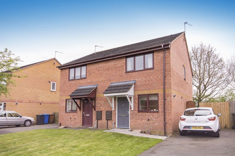 2 Bedrooms Semi Detached House for sale in DALESGATE CLOSE, LITTLEOVER.