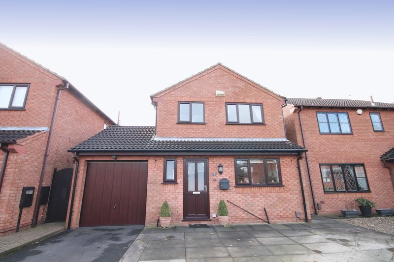 4 Bedrooms Detached House for sale in MERRYBOWER CLOSE, STENSON FIELDS