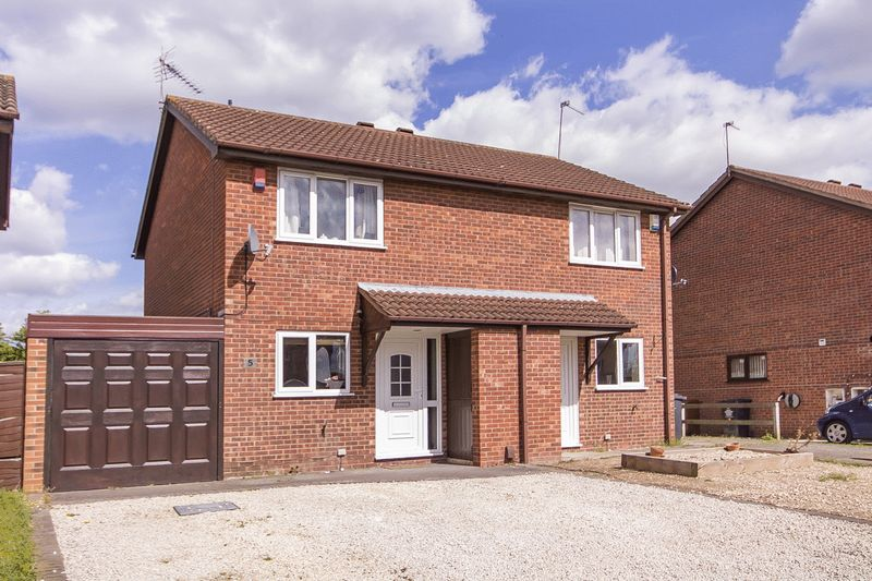 2 Bedrooms Semi Detached House for sale in JESSOP DRIVE, STENSON FIELDS