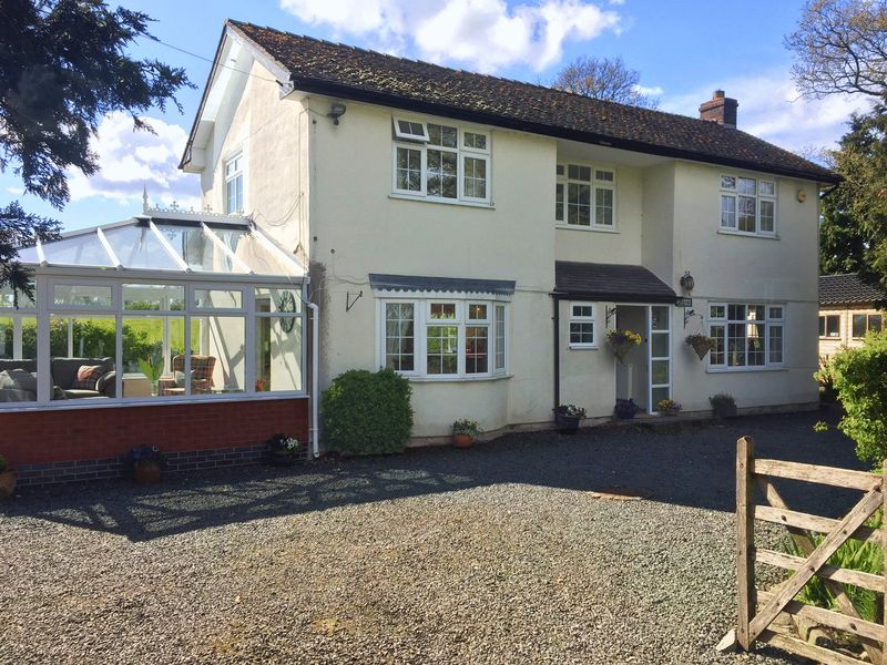 3 Bedrooms Detached House for sale in The Corner Cottage, Grange Road, Knightley, Staffordshire. ST20 0JX