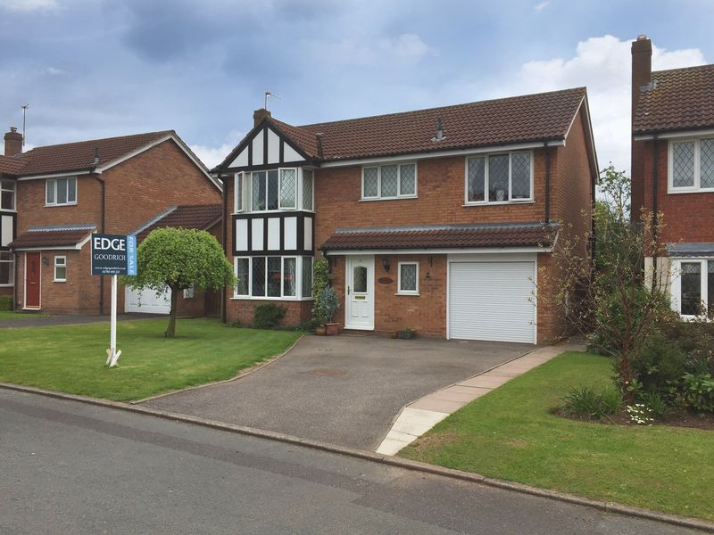 Property for sale in Chestnut Close, Gnosall, Staffordshire