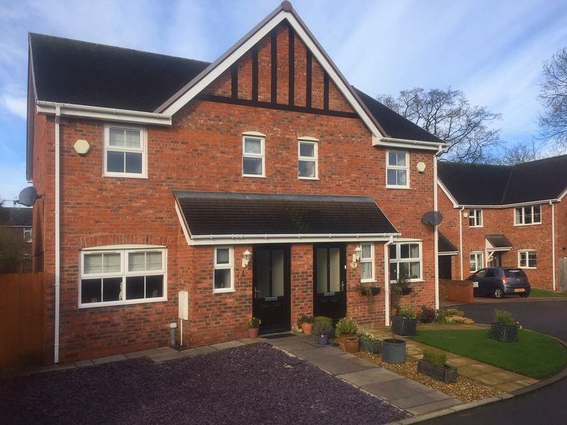 3 Bedrooms Semi Detached House for sale in 1 The Orchards, Green Lane, Eccleshall Staffordshire ST21 6GH