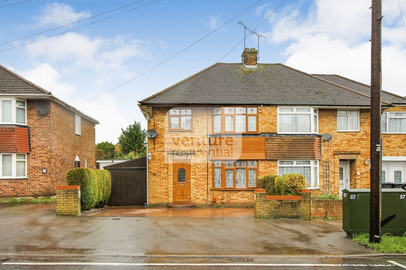 3 Bedrooms Semi Detached House for sale in Stoneygate Road, Luton