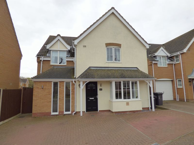 4 Bedrooms Detached House for sale in Jenkins Green, Lowestoft