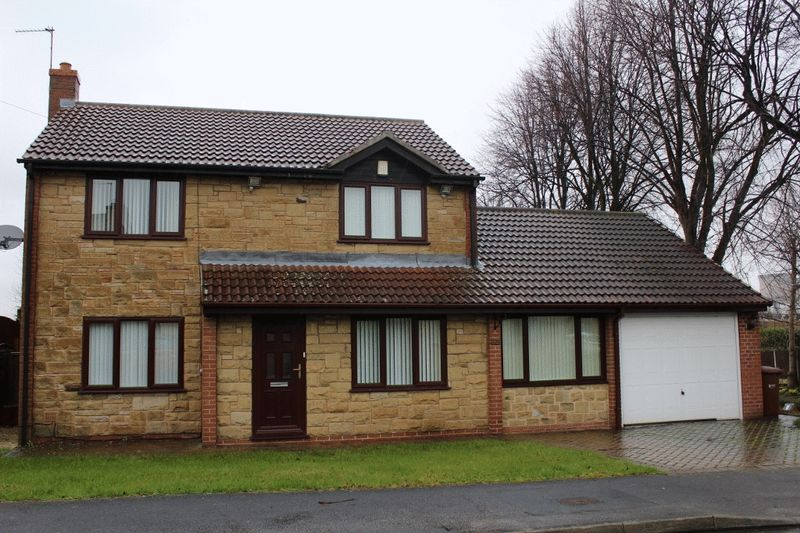 4 Bedrooms Detached House for sale in Limetrees, Pontefract