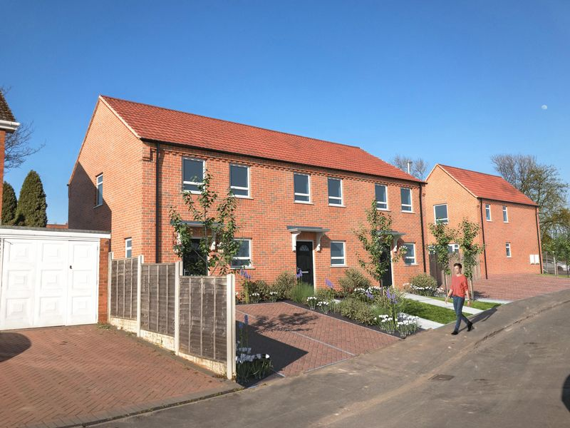 2 Bedrooms Terraced House for sale in QUARRY BANK, Brandon Way, PARK VIEW, Plot One