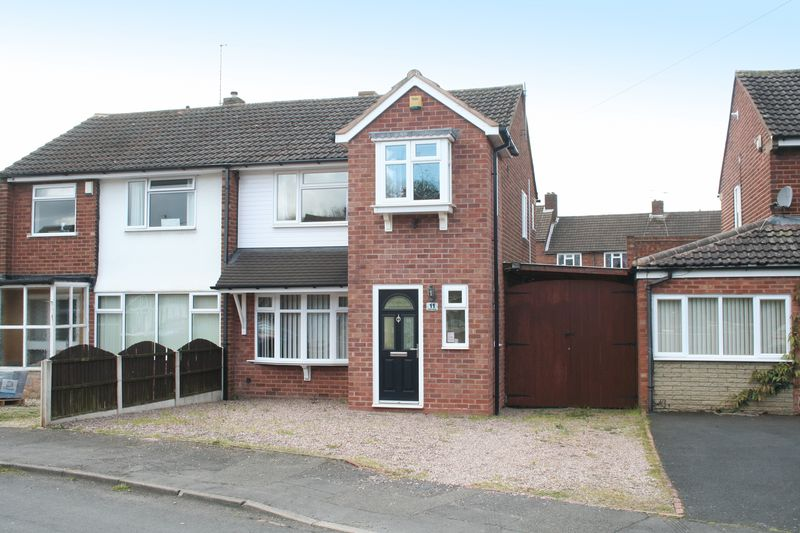 3 Bedrooms Semi Detached House for sale in KINGSWINFORD, Fairview Crescent