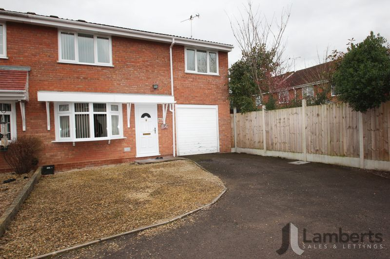 4 Bedrooms Semi Detached House for sale in Northfield Close, Churchill North, Redditch