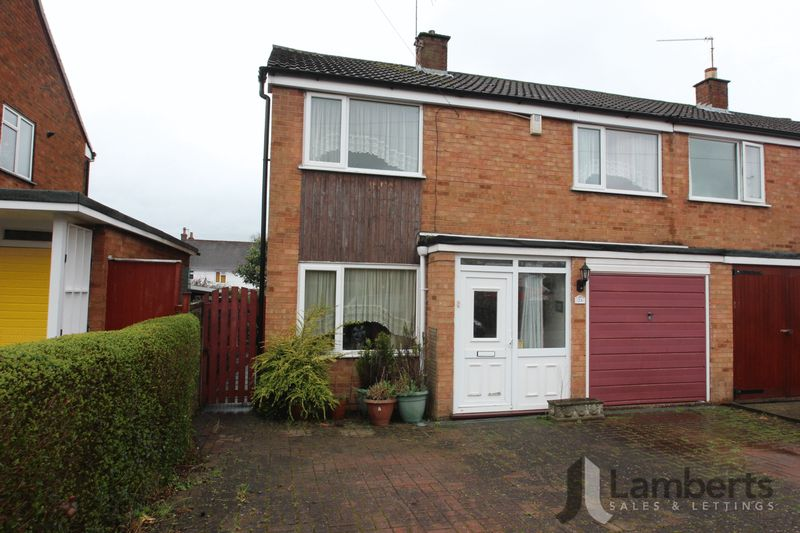 3 Bedrooms Semi Detached House for sale in Hamilton Drive, Studley
