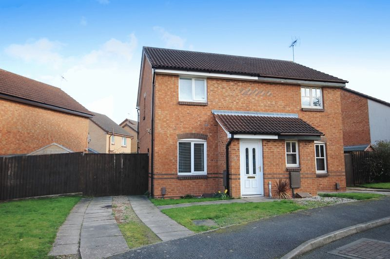 2 Bedrooms Semi Detached House for sale in LEVERET CLOSE, CHELLASTON