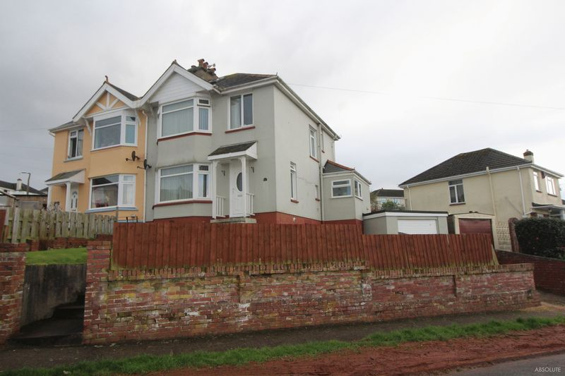3 Bedrooms Semi Detached House for sale in Derrell Road, Paignton