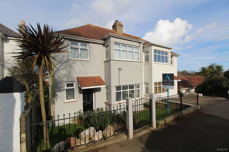 4 Bedrooms Semi Detached House for sale in Perinville Road, Torquay