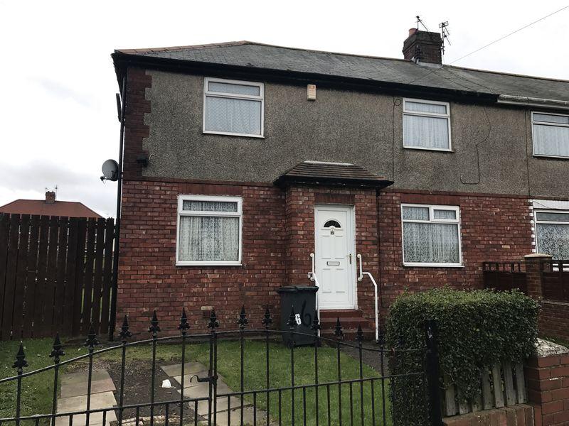 3 Bedrooms Semi Detached House for sale in Haughton Crescent, Jarrow