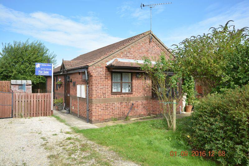 2 Bedrooms Detached Bungalow for sale in Meadow Court, Hibaldstow, Brigg