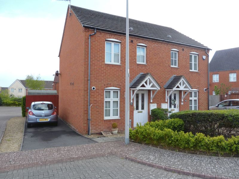2 Bedrooms Semi Detached House for sale in Maes Slowes Leyes, Rhoose Point