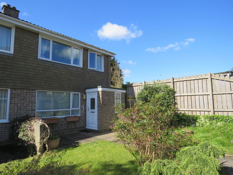 4 Bedrooms Semi Detached House for sale in Trevithick Close, Truro