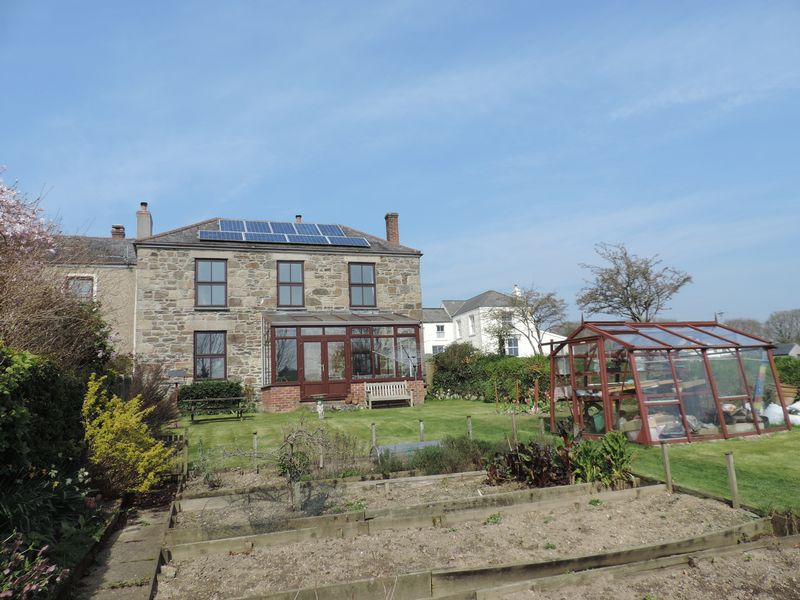 3 Bedrooms Semi Detached House for sale in Bissoe, Nr. Truro