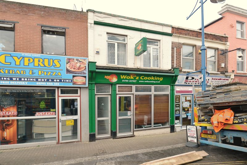 Takeaway Shop - High Street, Sheerness, ...