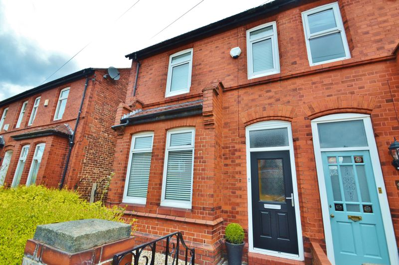 3 Bedrooms Semi Detached House for sale in Mansfield Road, Urmston