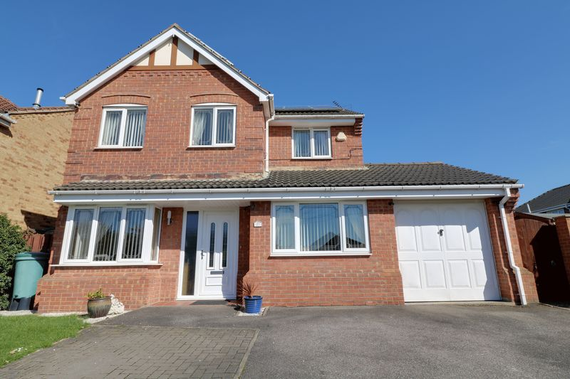 4 Bedrooms Detached House for sale in Westbourne Drive, Crowle, Scunthorpe