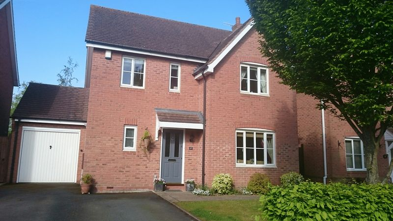 4 Bedrooms Detached House for sale in Bramley Way, Alcester