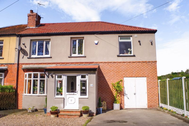 4 Bedrooms Semi Detached House for sale in Bowshaw, Dronfield