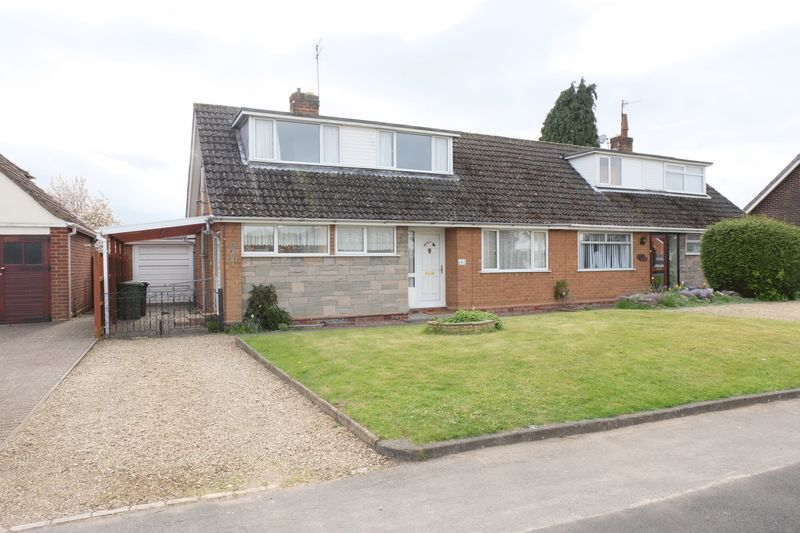3 Bedrooms Semi Detached Bungalow for sale in Windermere Way, Stourport-On-Severn DY13 8QE