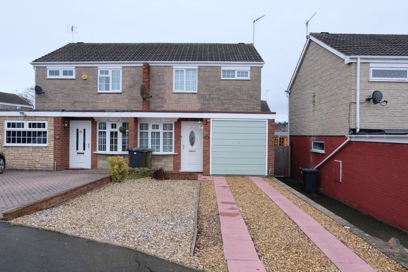 3 Bedrooms Semi Detached House for sale in Puxton Drive, Kidderminster DY11 5HY