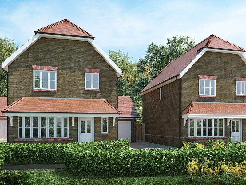 3 Bedrooms Detached House for sale in The Westscott (plot 24), Valeside Keep, Valebridge Road, Burgess Hill