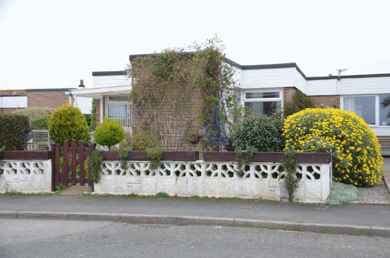 2 Bedrooms Semi Detached Bungalow for sale in MARINA CLOSE, BRIXHAM