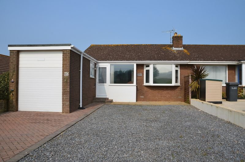 2 Bedrooms Semi Detached Bungalow for sale in COPYTHORNE ROAD BRIXHAM