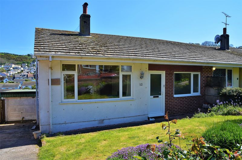 2 Bedrooms Semi Detached Bungalow for sale in ELM ROAD BRIXHAM