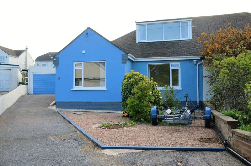 4 Bedrooms Semi Detached Bungalow for sale in BELMONT ROAD, BRIXHAM