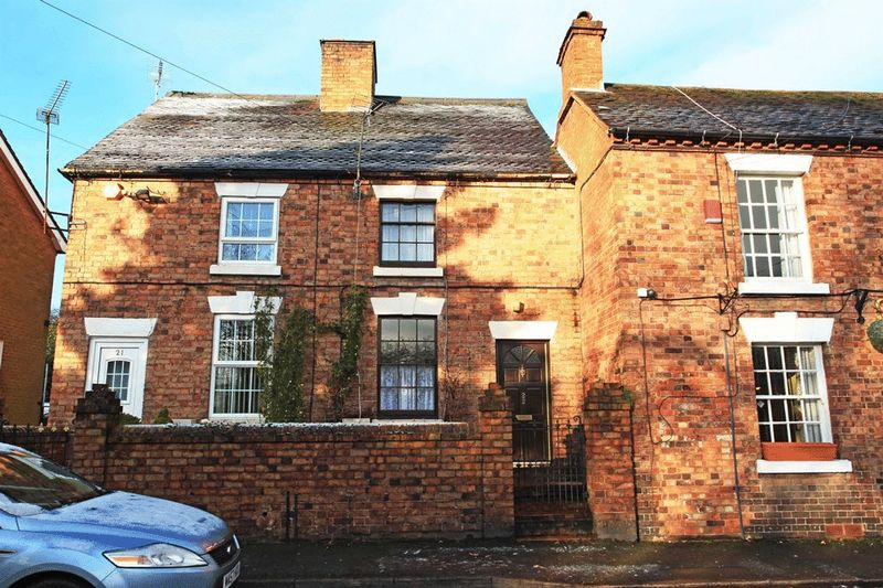 2 Bedrooms Terraced House for sale in Church St, Madeley