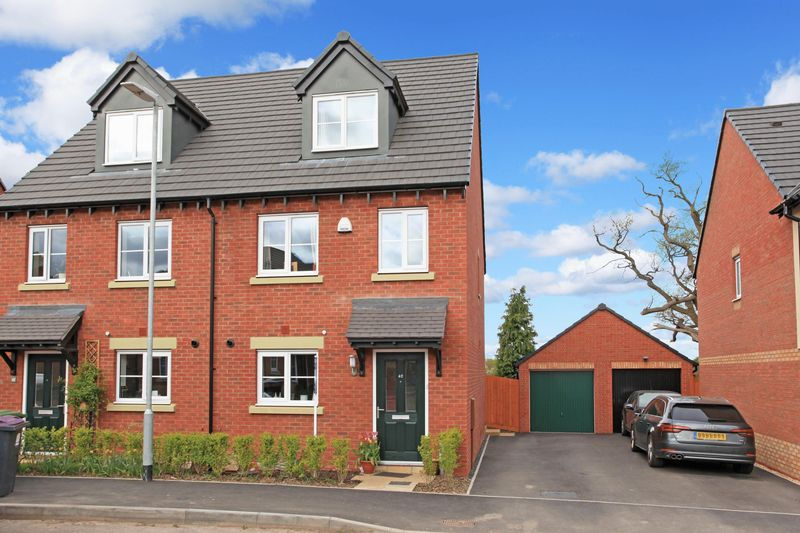 3 Bedrooms Semi Detached House for sale in Vesey Court, Wellington