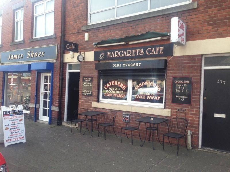 Margarets Cafe, 375 West Road, Newcastle...
