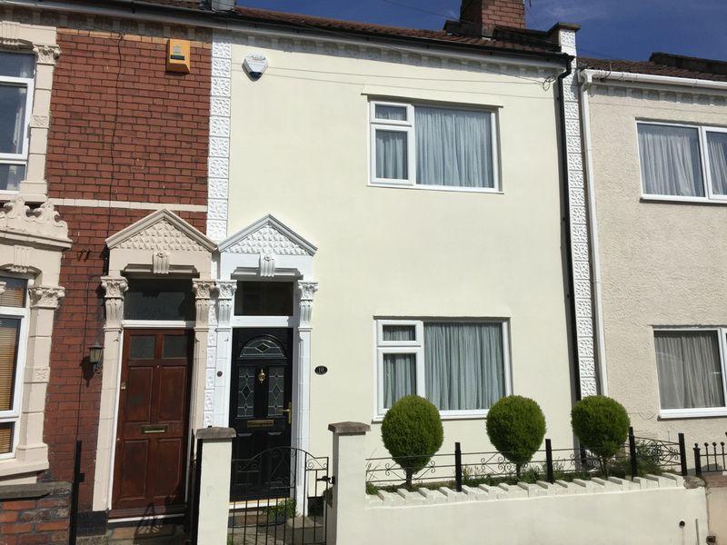 2 Bedrooms Terraced House for sale in Woodbine Road, Whitehall, Bristol BS5 9AJ