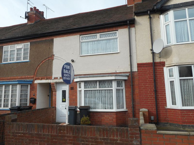 2 Bedrooms Terraced House for sale in Sandon Road, Abbey Green, Nuneaton