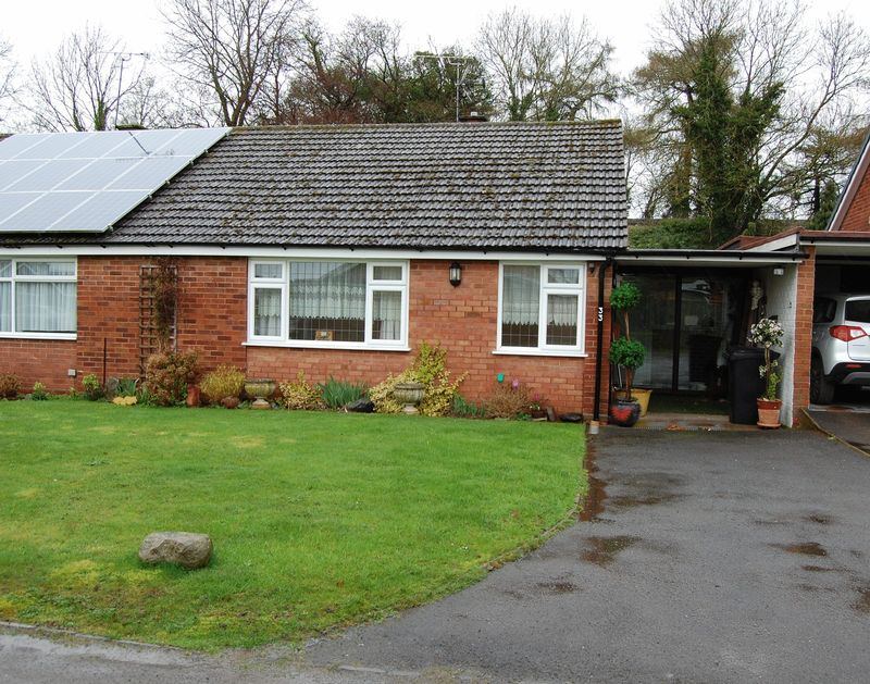 2 Bedrooms Semi Detached Bungalow for sale in Barclay Close Albrighton Wolverhampton
