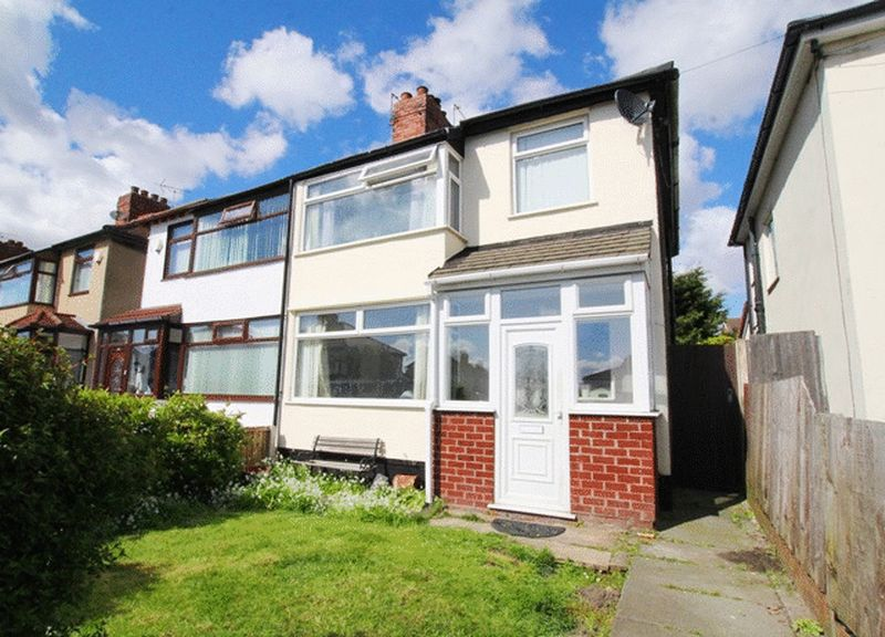 3 Bedrooms Semi Detached House for sale in Bedburn Drive, Huyton, Liverpool, L36