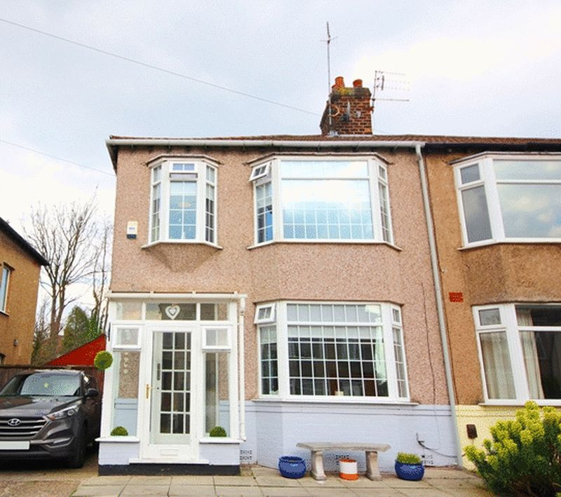 3 Bedrooms Semi Detached House for sale in Desford Road, Aigburth, Liverpool, L19
