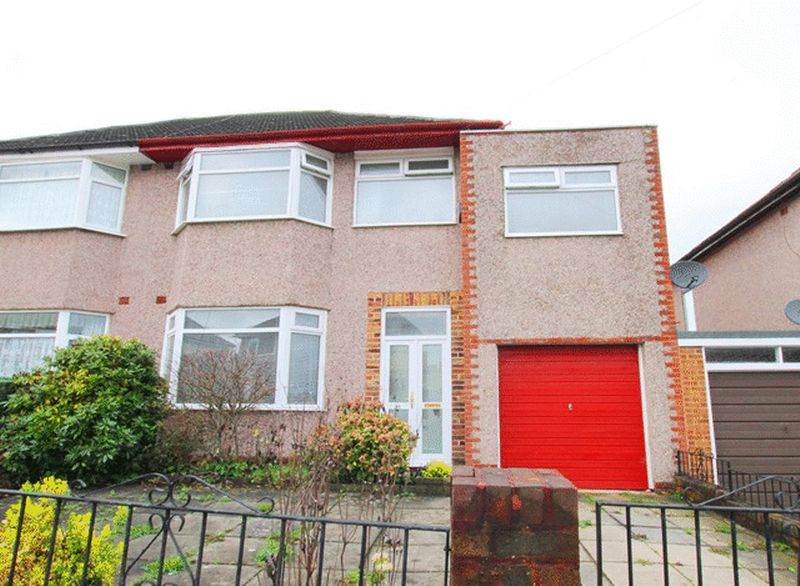 4 Bedrooms Semi Detached House for sale in South Barcombe Road, Childwall, Liverpool, L16