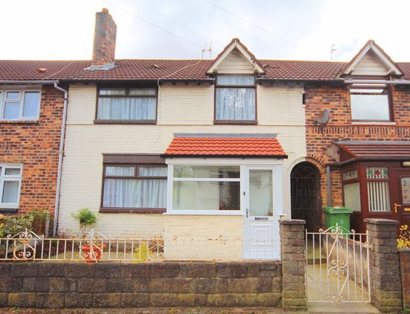 3 Bedrooms Terraced House for sale in Crofton Crescent, Old Swan, Liverpool, L13